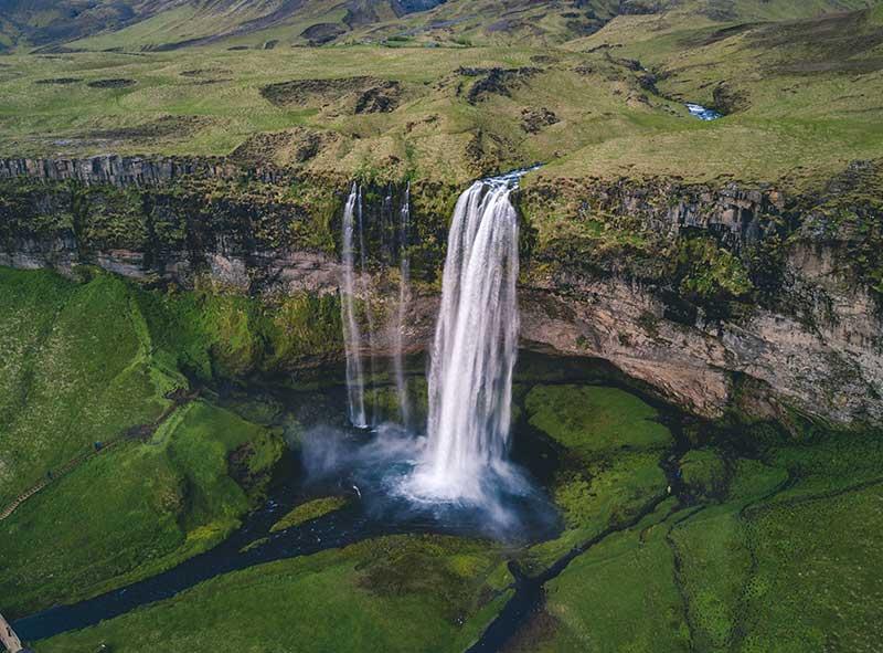 Seljalandsfoss, Waterfall in Iceland