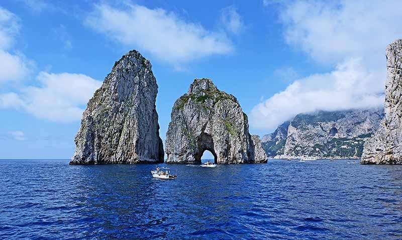 image of Capri in Italy